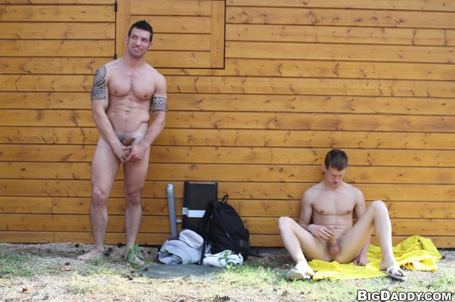 K-boy, Marek, Rado Zuska - Hot studs fuck outdoors (15 December 2017) [HD 720p]
