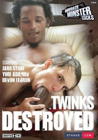 Bareback Monster Cocks - Twinks Destroyed 1 [DVDRip]