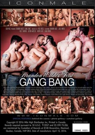 Icon Male - Brandon Wildes First Gang Bang [DVDRip]
