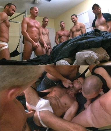 Alexander Austin, Chase Roberts, Fred Mayer, Jaison Lawrence, Jean XXX, Matias - Group Sex (9 January 2018) [HD 720p]