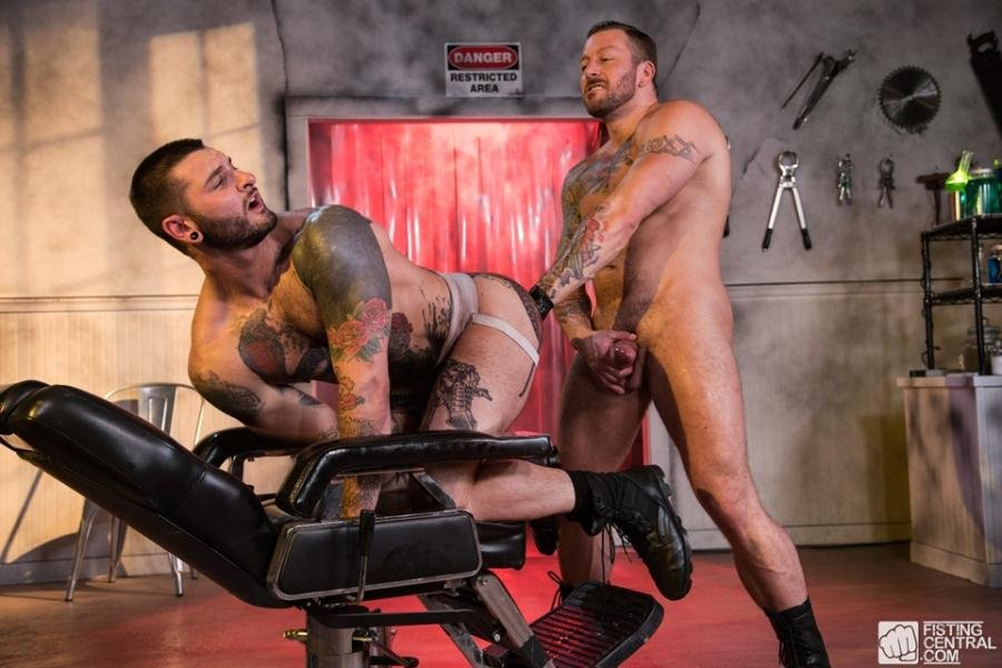 Bryce gets anus stretched hard