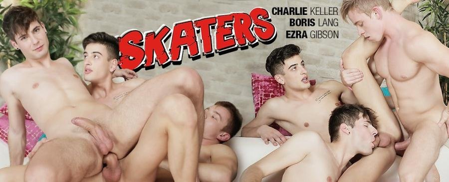 Raw Skaters Threesome