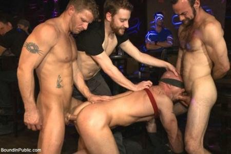 Sebastian Keys, John Jammen, Mitch Vaughn, Jeremy Stevens, Clayton Kent, Rob Yaeger, Rowen Jackson - BIP30505 - Muscled stud has had enough but the horny crowd says no (23 January 2018) [HD 720p]