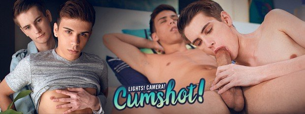 Landon Vega, Trevor Harris - Lights! Camera! Cumshot! (3 February 2018) [HD 720p]