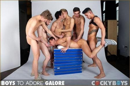 Bravo Delta, Dillon Rossi, JD Phoenix, Jett Black, Levi Karter, Max Ryder, Ricky Roman - Boys to Adore Galore (11 April 2018) [HD 720p]