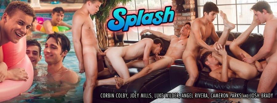 Josh Brady, Joey Mills, Corbin Colby, Cameron Parks, Luke Wilder, Angel Rivera - Splash (27 May 2018) [HD 720p]