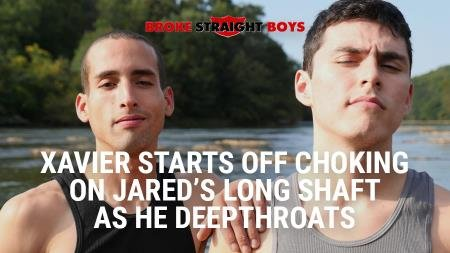 Jared Marzdon, Xavier Ryan - Long Shaft As He Deepthroats (6 August 2018) [FullHD 1080p]