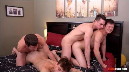 Colby Chambers, Mickey Knox, Scotty Knox, Jack Hunter - Jack Hunter and The Boys, Part 2 (6 August 2018) [HD 720p]