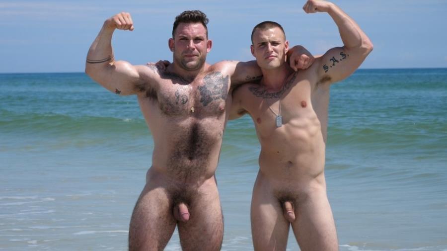 Beach gay porno