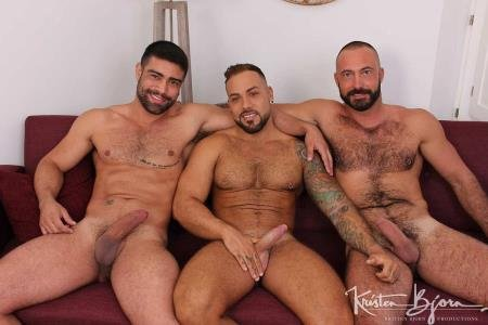 Wagner Vittoria, Sergi Rodriguez, Xavi Garcia - Hot Stuff: Deep And Tight (12 October 2018) [FullHD 1080p]