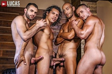 Alejandro Castillo, Dennis Sokolov, Dominic Arrow, Wolf Rayet - Raw Sucking And Fucking (30 November 2018) [FullHD 1080p]