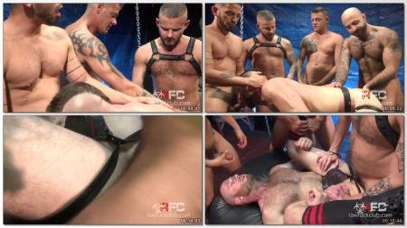 Jace Chambers, Atlas Grant, Aiden Hart, Sean Harding, Cesar Rossi - R433 Aiden Hart Gang Bang Part 1 (12 December 2018) [HD 720p]