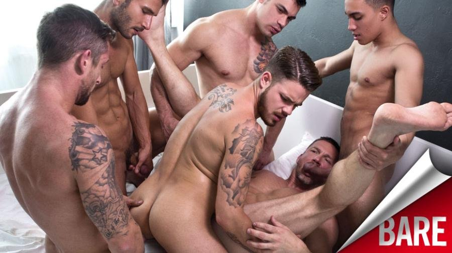 Gay man sex party