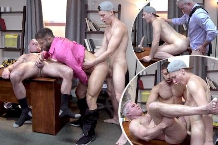 Eddy Ceetee, Dale Savage, Tristan Hunter - Tristan And Dale's 3some With Stepdad (25 September 2019) [HD 720p]