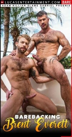 Adam Killian, Gabriel Phoenix - Barebacking Brent Everett, scene 2 (15 May 2020) [FullHD]