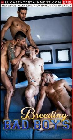 Allen King, Max Arion, Max Avila, Rico Marlon - LVP318-03 Four-Way Breeding (10 June 2020) [HD 720p]