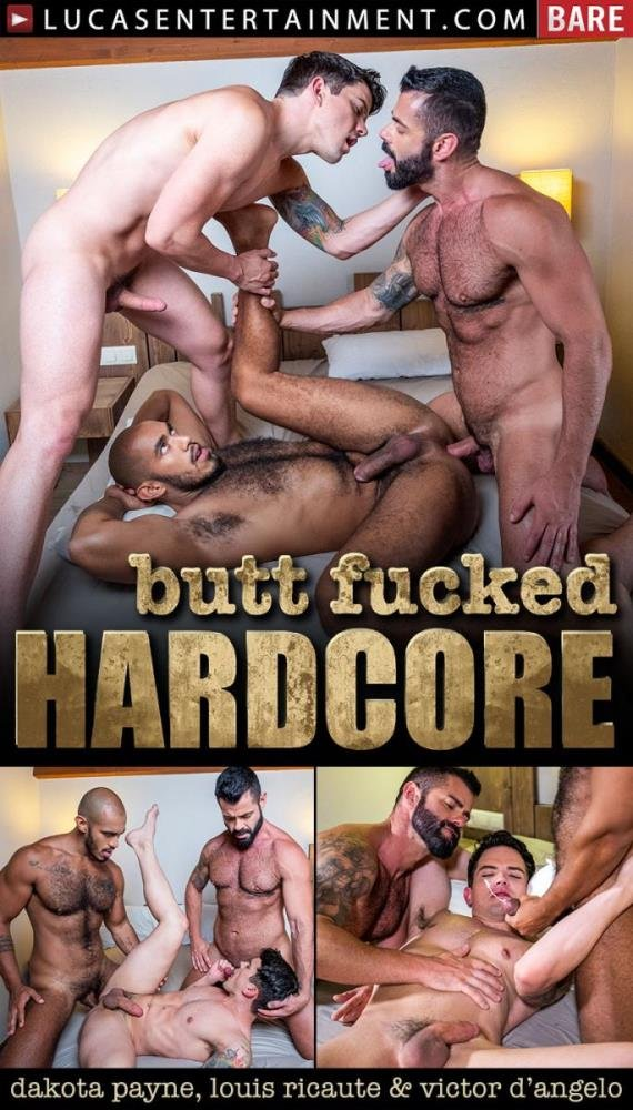 Dakota Payne, Louis Ricaute, Victor DAngelo - Butt Fucked Hardcore Scene #2: Dakota Payne Services Louis Ricaute and Victor D'Angelo (16 June 2020) [FullHD]