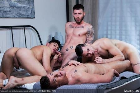 JJ Knight, Ken Summers, Lukas Daken, Rico Vega - Motel Slutsville, Part 3 (1 September 2020) [HD]