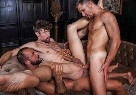 Drew Dixon, Sir Peter, Andrey Vic - Drew Dixon Services Sir Peter And Andrey Vic's Uncut Cocks / LVP360-03 Bareback Auditions 12 (7 марта 2021) [HD]