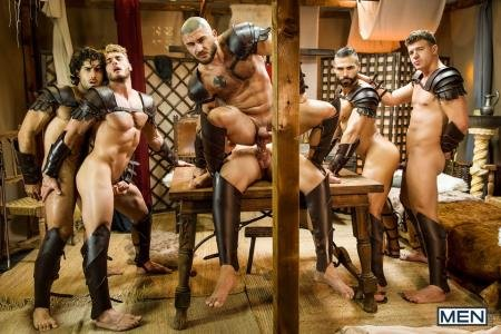 Diego Sans, Francois Sagat, JJ Knight, Ryan Bones, William Seed - Sacred Band Of Thebes Part 4 (18 December 2018) [HD 720p]