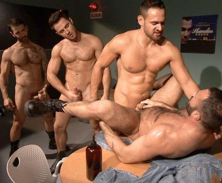 Jessy Ares , Junior Stellano , Marco Wilson , Wilfried Knight -mand Performance Scene 04 (22 May 2019) [HD 720p]